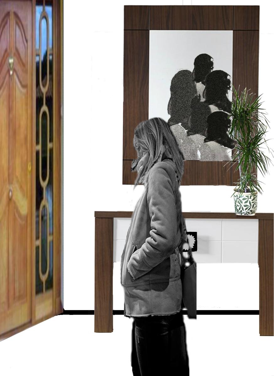 El espejo en la puerta. 3/52 RETOS DE ESCRITURA 2019