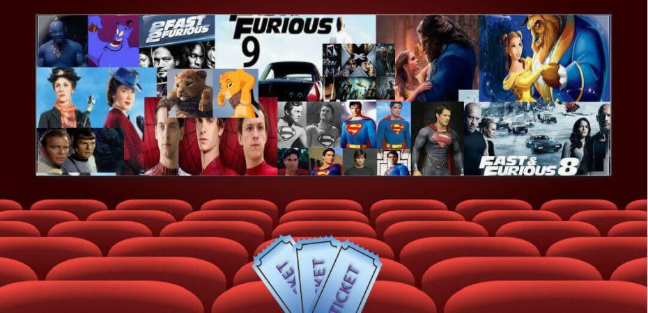 cine de remake y franquicias para mantenernos jóvenes.