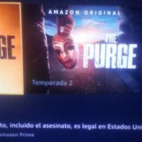 A propósito de The Purge. Serie, T1 y T2