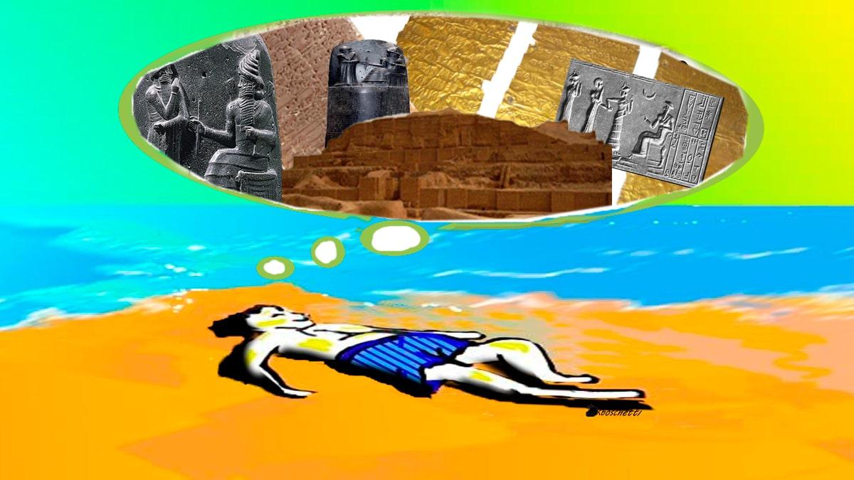 ¿Arte con virus o arte viral? Parte III Primeras civilizaciones: Mesopotamia