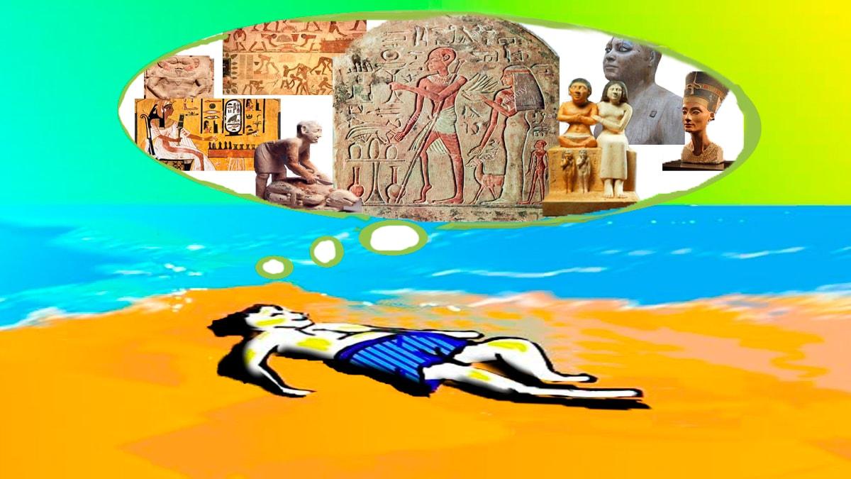 ¿Arte con virus o arte viral? Parte II Primeras civilizaciones: Egipto