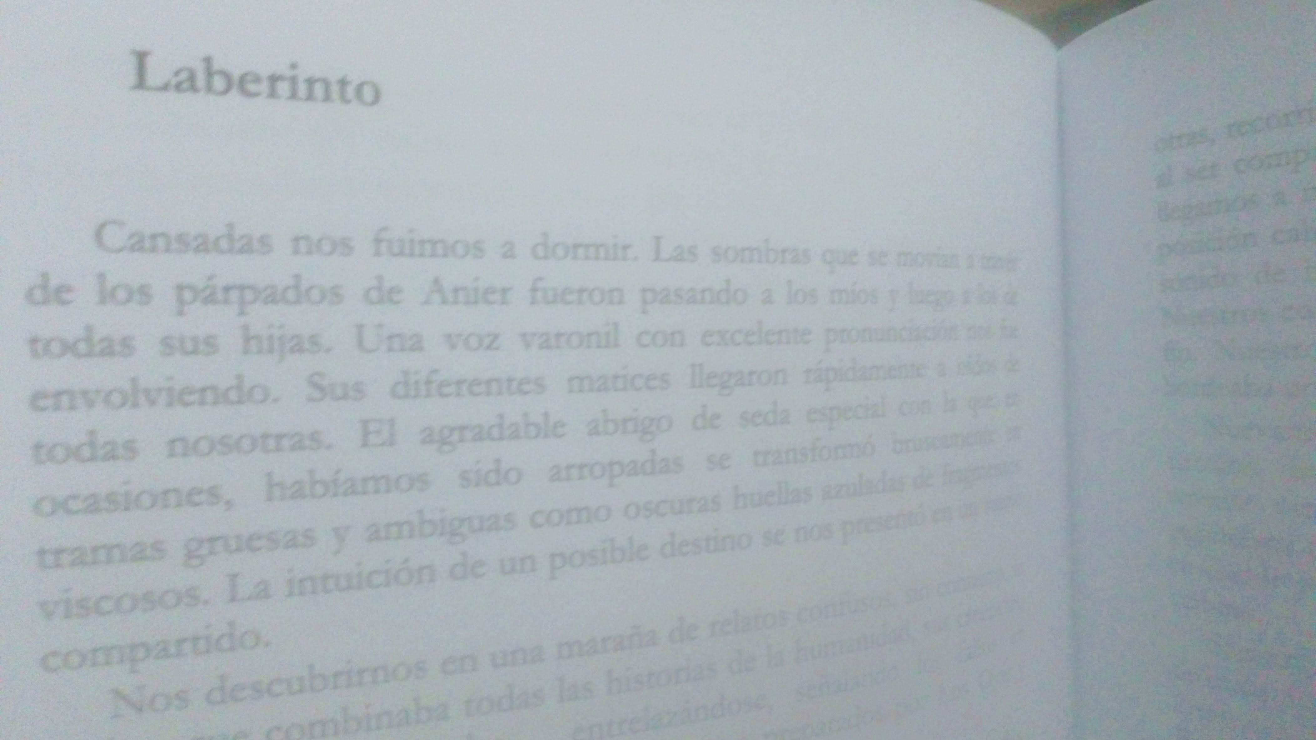 Laberinto (relato de un sueño compartido)