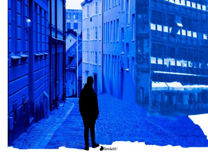 calles azules y vacías Saturnino Segundo vive triste