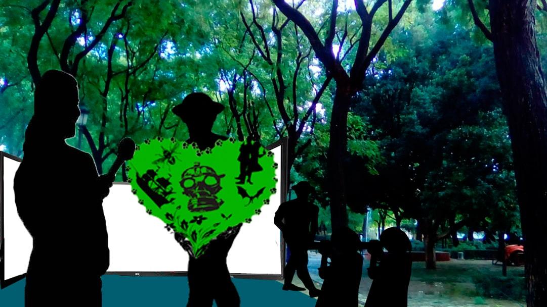 Parque Sevilla. Siluetas. Entrevista